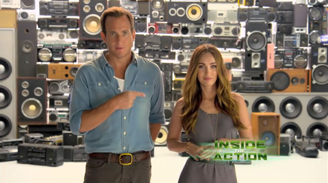 Teenage Mutant Ninja Turtles Inside the Action Nickelodeon Megan Fox and Will Arnett