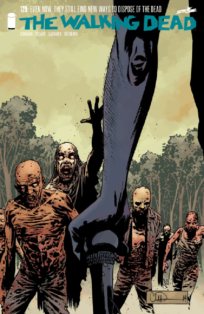 The Walking Dead 129 cover