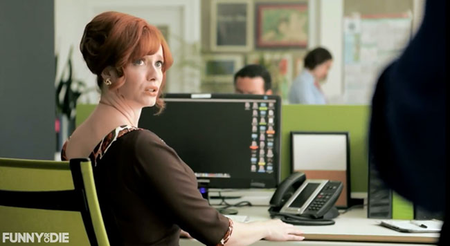 Christina Hendricks is Mad at Men for earning more money than woman
