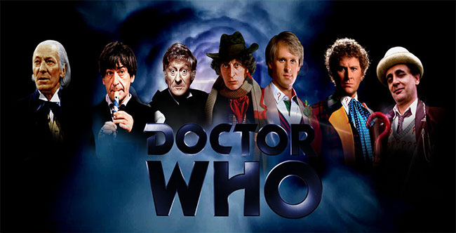 Classic Doctor Who vworps to Retro TV