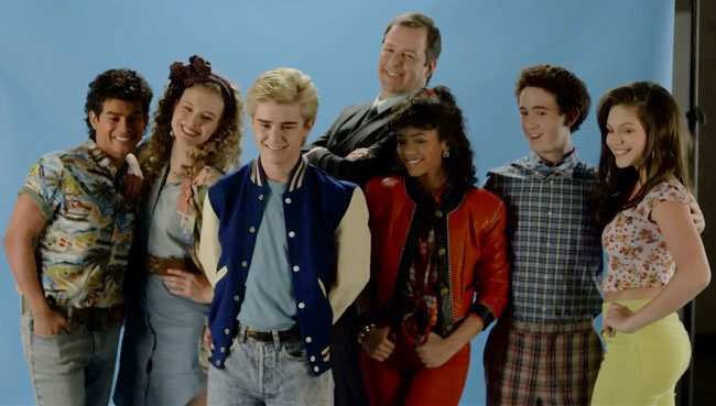 Lifetime unauthorized Saved by the Bell movie clip