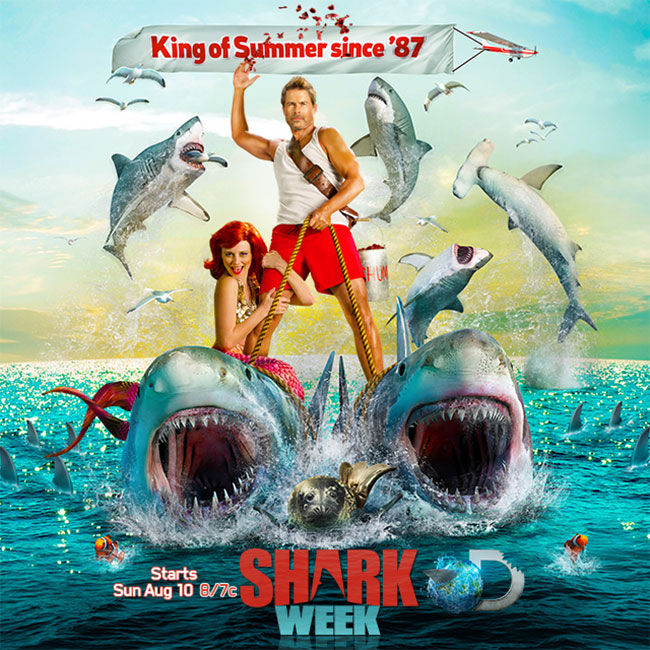 Rob Lowe is the King of Shark Week