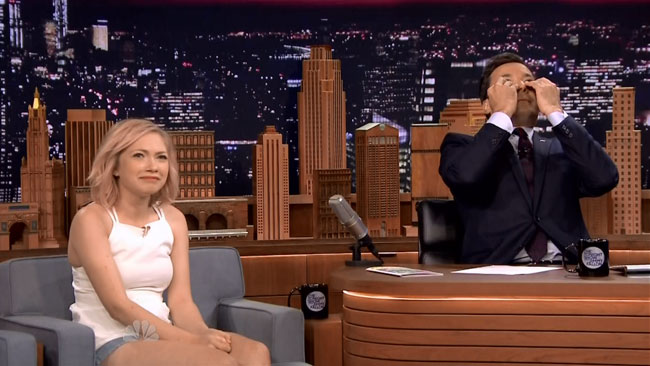 Starlet Tavi Gevinson makes Jimmy Fallon feel old on Tonight Show