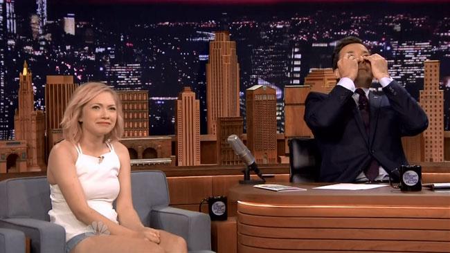 Starlet Tavi Gevinson makes Jimmy Fallon feel old on Tonight Show