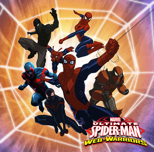 Ultimate Spider-Man: Web-Warriors Spider-Ham Spider-man 2099
