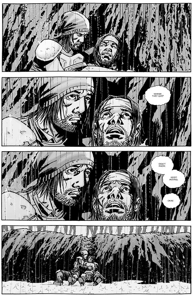 Walking Dead 130 Marco and Ken hiding from talking zombies