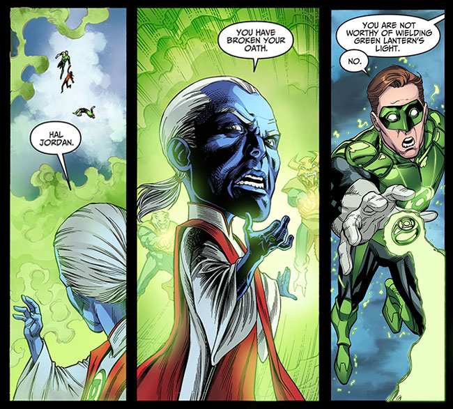 Green Lantern Hal Jordan joins the Yellow Side - L7 World