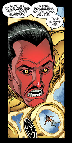 Yellow Lantern Hal Jordan Injustice Gods Among Us Year Two 19 Sinestro