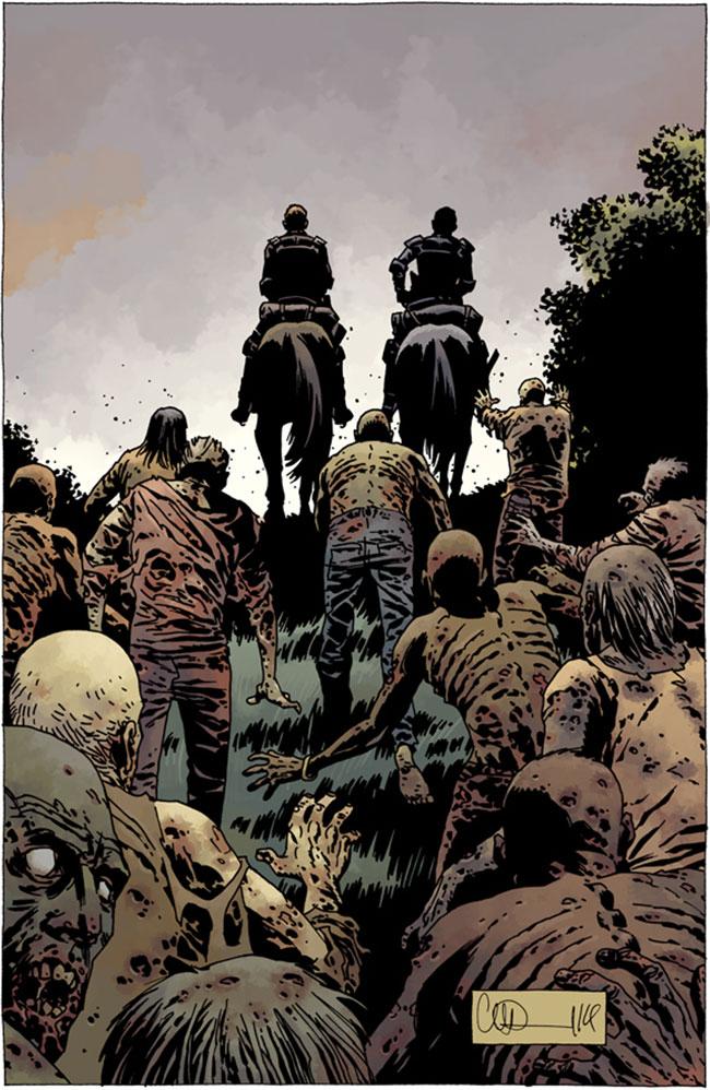 Walking Dead #133 cover