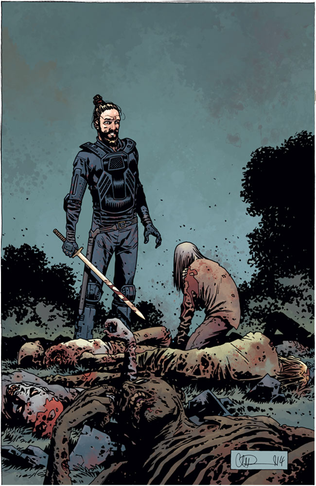 Walking Dead #134 cover