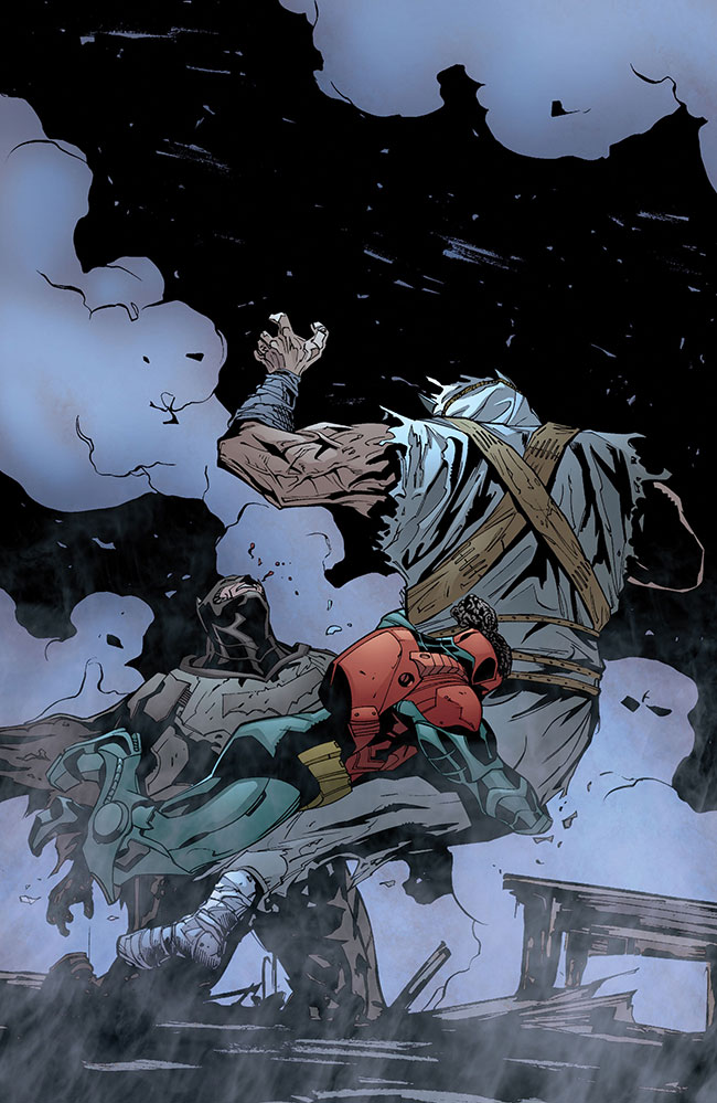 Black Robin Duke Thomas Heretic Batman and Robin Futures End 1