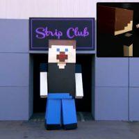 Conan builds Minecraft strip club