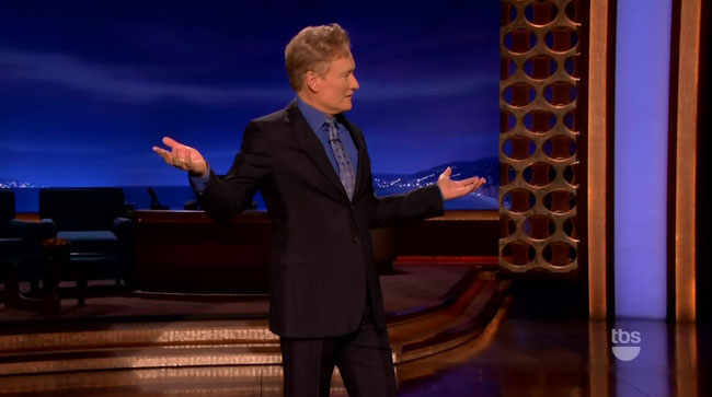Conan smoke alarm set off by musical guest Wiz Khalifa