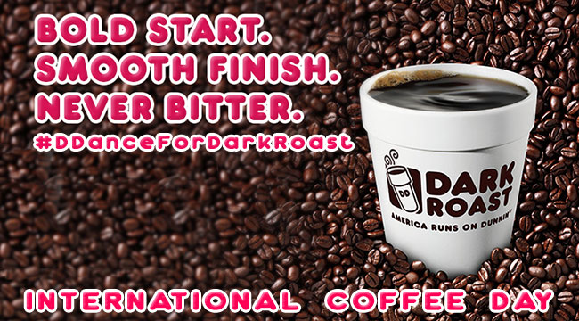 Dunkin Donuts wants you to grind for International Coffee Day
