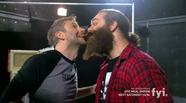 Epic Meal Empire Fat Midnight Harley Morenstein Chris Hardwick
