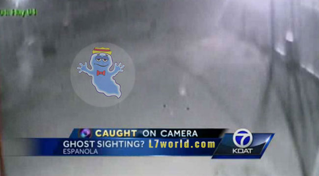 Ghost busted by police in New Mexico