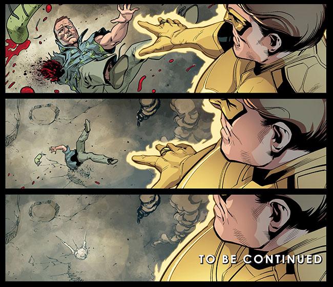 Injustice Gods Among Us Year Two 23 Green Lantern Hal Jordan kills Guy Gardner