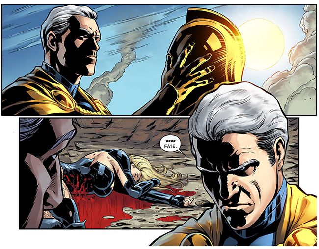 Injustice Gods Among Us Year Two 24 Doctor Fate Black Canary dead