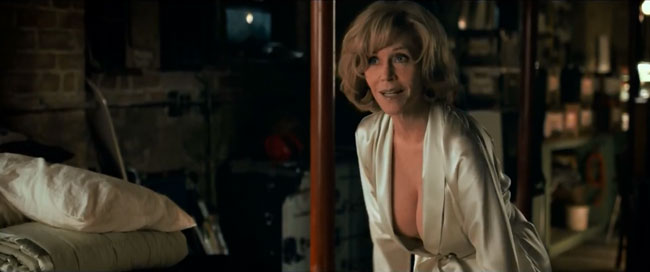 Jane Fonda breasts fake star reveals to Jimmy Kimmel This is Where I Leave You