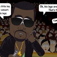 Kanye West tells wheelchair bound to stand up at concert South Park Timmy