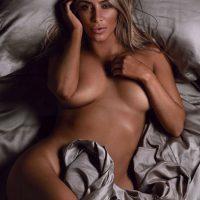 Kim Kardashian nude GQ 2014 woman of the year breasts