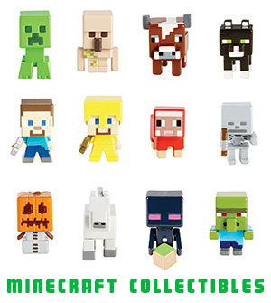Minecraft Collectible Figures Singles Case