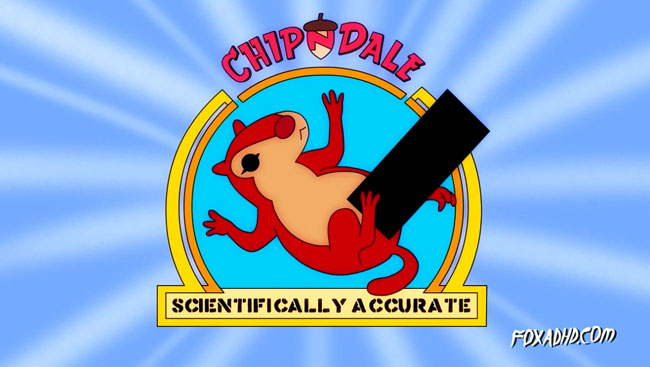 Scientifically Accurate Chip and Dale Rescue Rangers