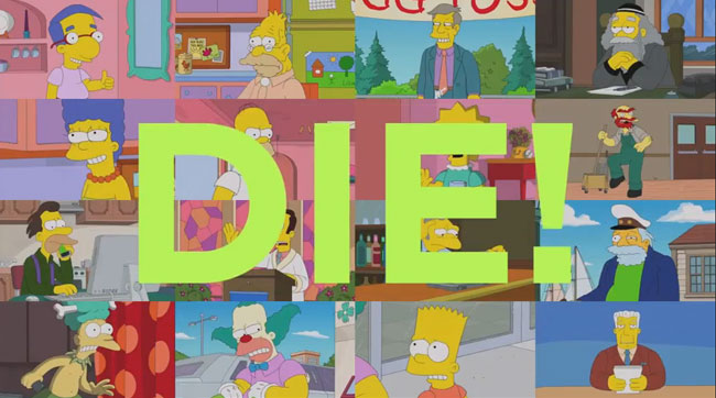 Simpsons character dies in season premiere