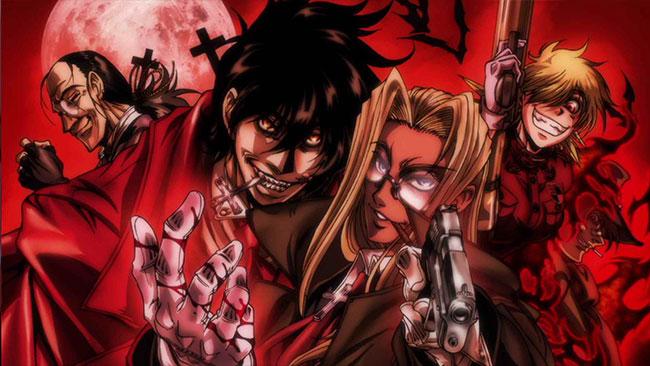 Toonami vampire anime Hellsing Ultimate OVA Alucard Integra Walter Seras Pip