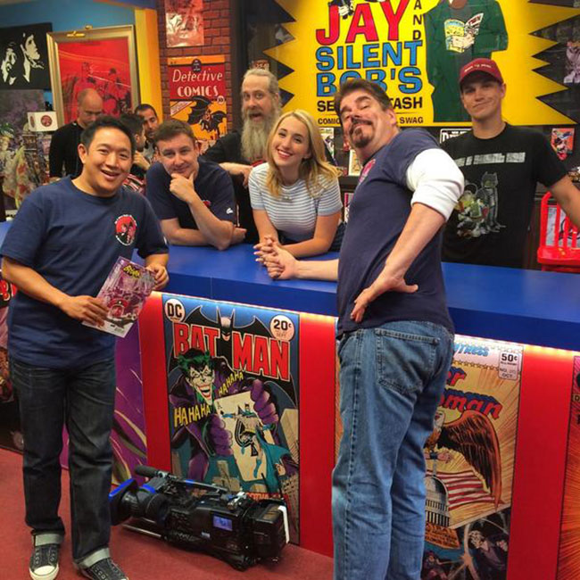 Comic Book Men season 4 Harley Quinn Smith Secret Stash