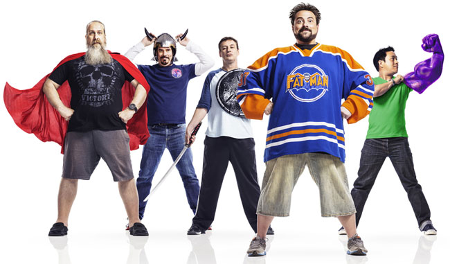 Comic Book Men season 4 most geeky yet says Kevin Smith