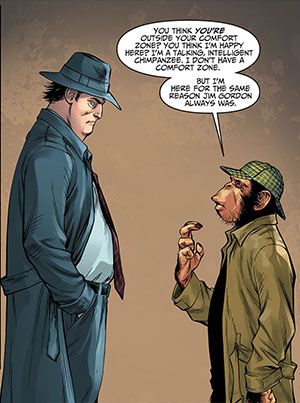 Injustice Gods Among Us Year Three 3 Harvey Bullock Detective Chimp