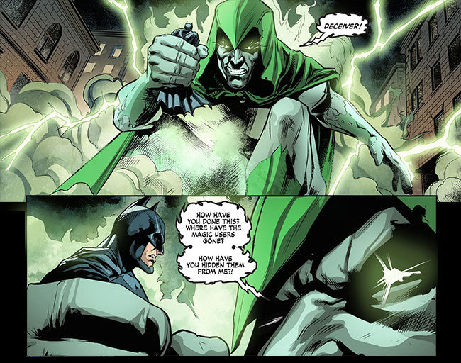 Injustice Gods Among Us Year Three 4 Batman vs Spectre