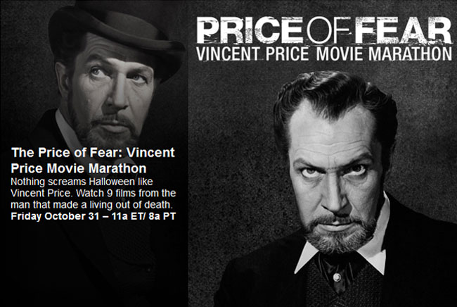 MGM HD airs Vincent Price movie marathon for Halloween