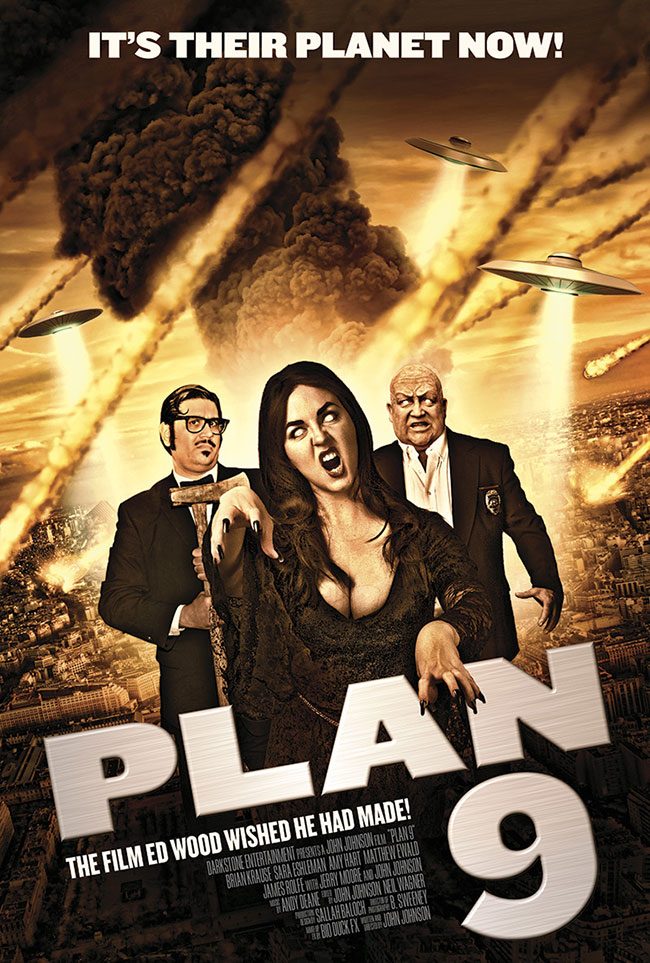 Plan 9 poster remake