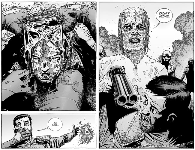 The Walking Dead 132 talking zombie mask
