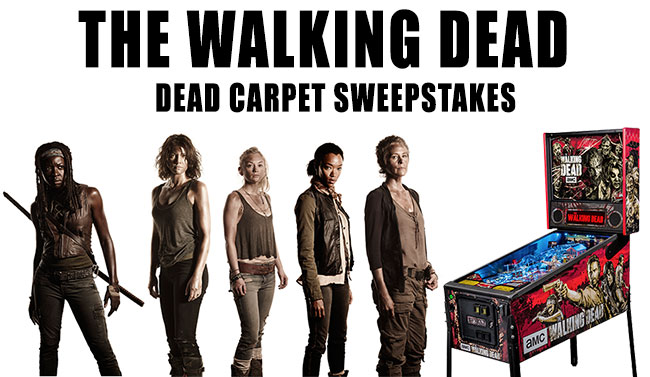 The Walking Dead Dead Carpet Sweepstakes