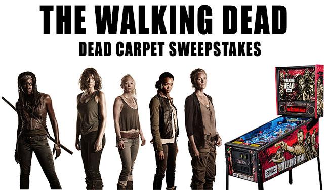 The Walking Dead Dead Carpet Sweepstakes