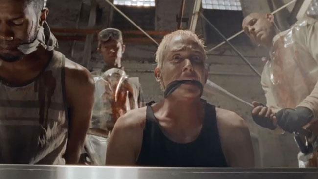 The Walking Dead No Sanctuary Terminus bat Sam Robin Lord Taylor