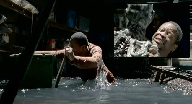 The Walking Dead Strangers Lawrence Gilliard Jr Bob water zombie
