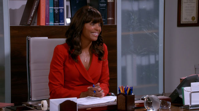 Two and a Half Men Aisha Tyler The Ol Mexican Spinach