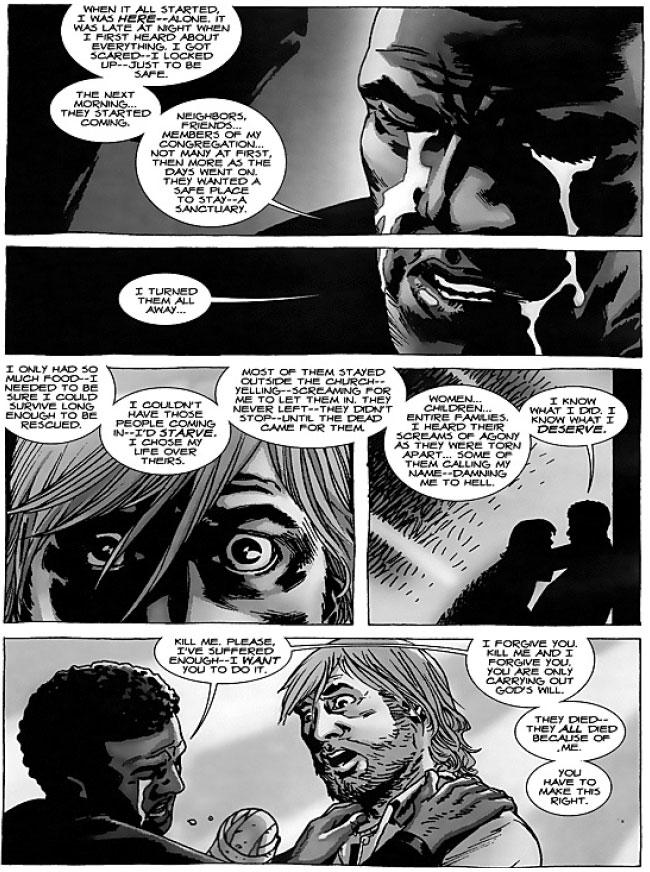Walking Dead 63 Father Gabriel Stokes