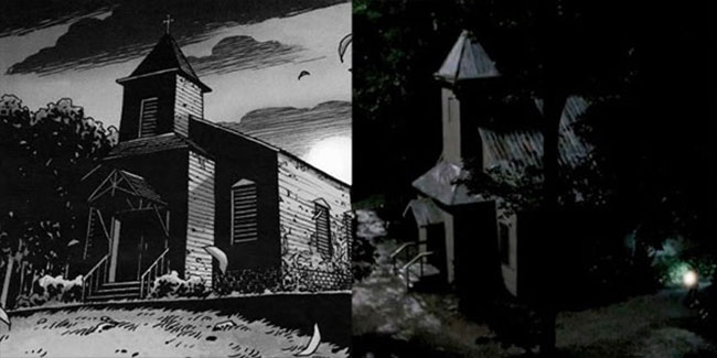 Walking Dead Father Gabriel Stokes church comic TV