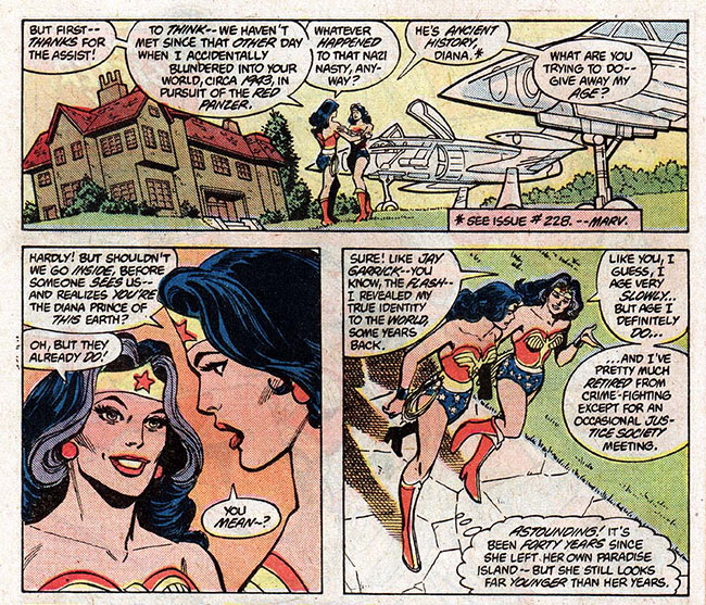 Wonder Woman 300 Earth 1 Wonder Woman Earth 2 Wonder Woman
