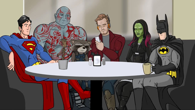 Guardians of the Galaxy gets super-sized parody
