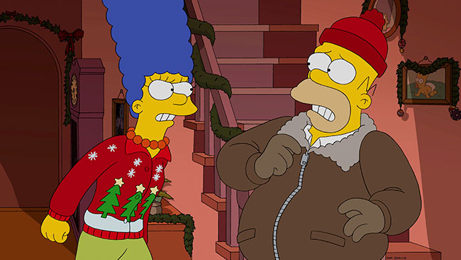 The Simpsons I Won't Be Home for Christmas