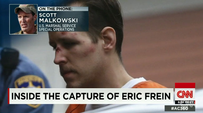 Treatment of alleged cop killer Eric Frein justice or revenge.jpg