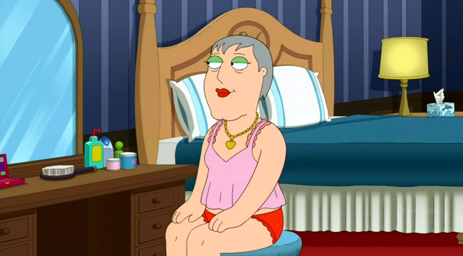 Family Guy The 2000-Year-Old Virgin Mayor Adam West