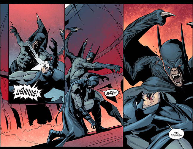 Infinite Crisis Fight for the Multiverse 31 Nightmare Batman VS Batman
