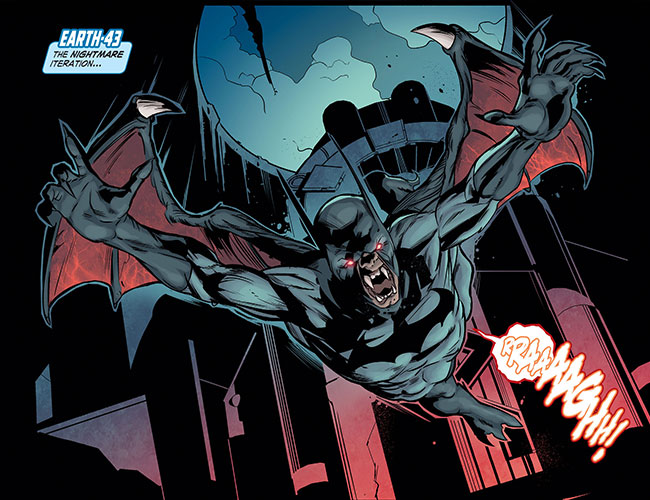 Infinite Crisis Fight for the Multiverse 31 Nightmare Batman